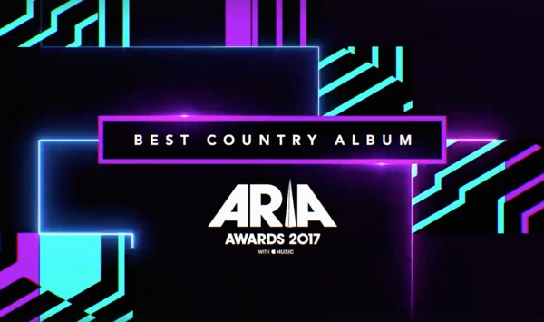 Nominated for an ARIA!!